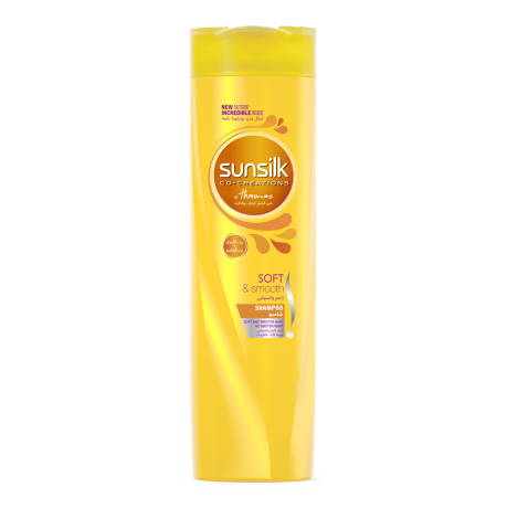 Soft & Smooth Shampoo 400ml front of pack image