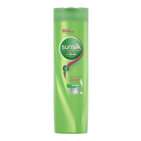 Strong & Long Shampoo 400ml front of pack image